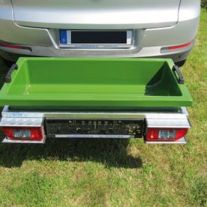 Transport Tub for Hitch Cargo Carrier